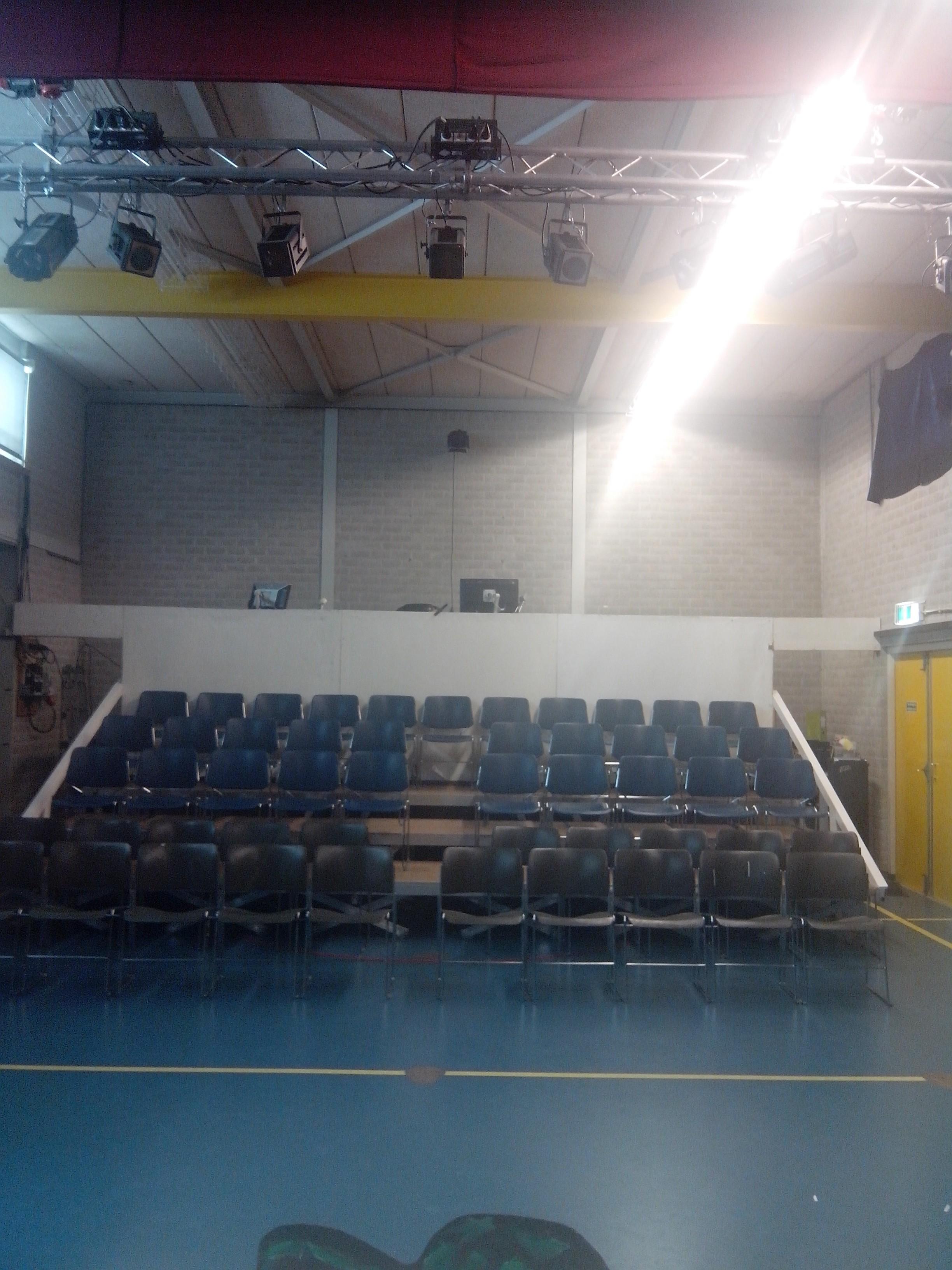 onze theaterzaal