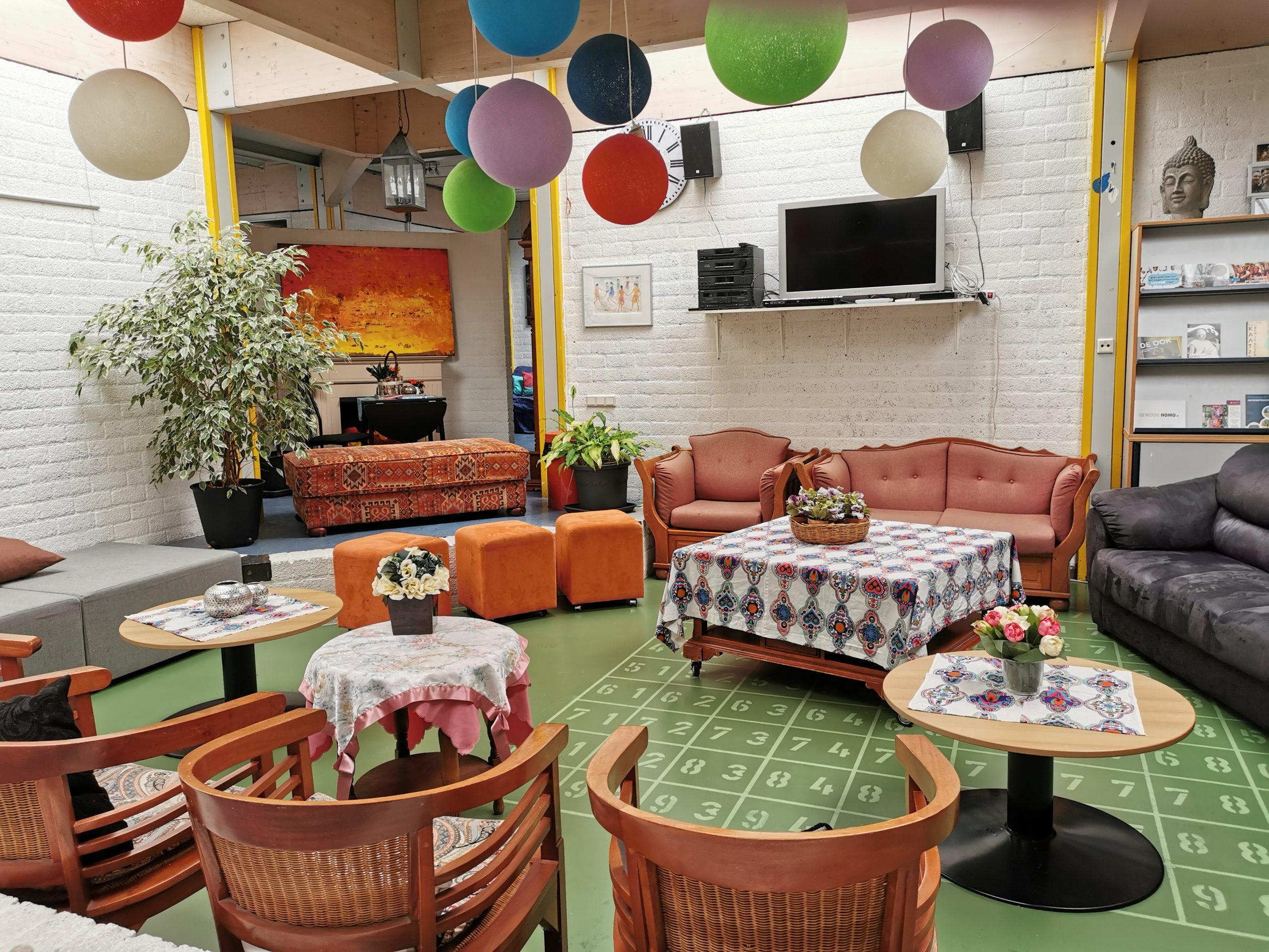 Onze lounge ruimte